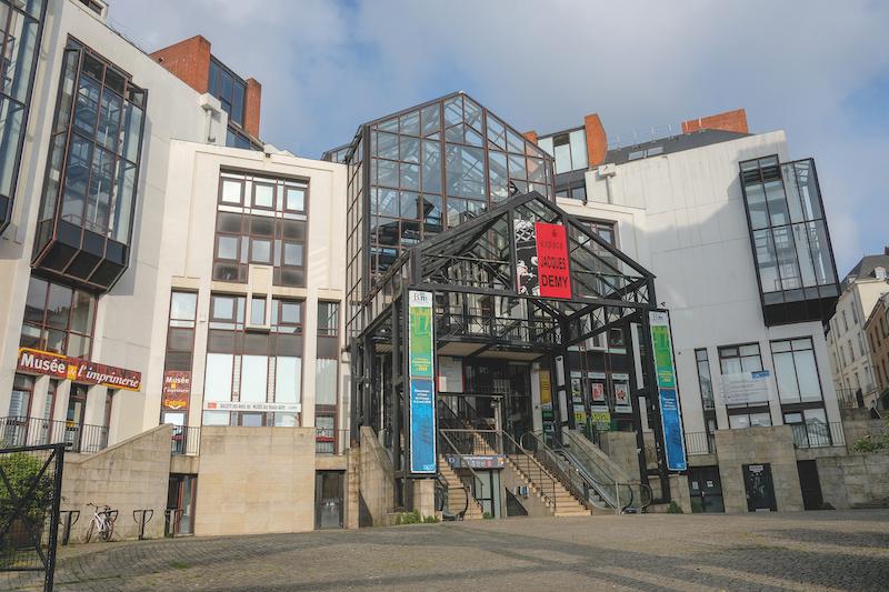 Réouverture de la Médiathèque Jacques Demy  en présence de Johanna Rolland